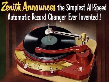 Zenith Record Changer